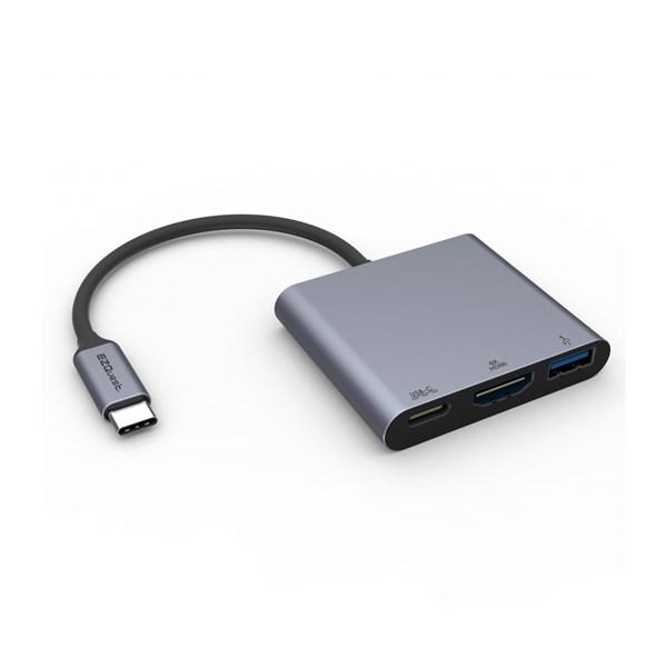 Adaptador tipo C para MacBook com USB-C - Ezquest