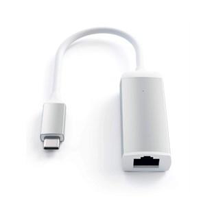 Adaptador USB-C para Ethernet na cor Prata - Satechi