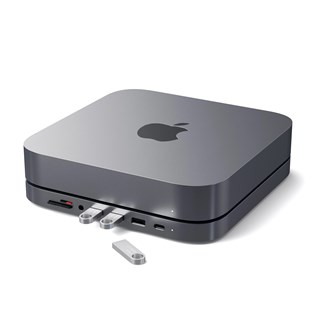 Base e Hub Multi portas para Mac Mini USB TIPO-C - Satechi