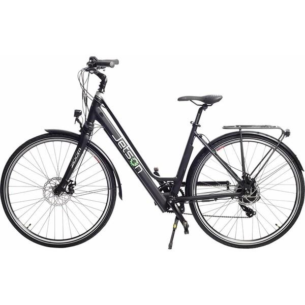 Bicicleta Elétrica Assistida Journey Com 9 velocidades e Câmbio Shimano de 7 Marchas Prata - Jetson