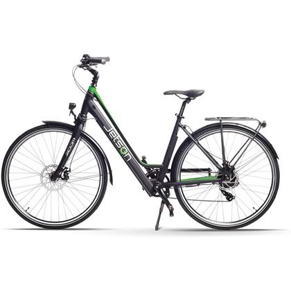 Bicicleta Elétrica Assistida Journey com 9 velocidades e Câmbio Shimano de 7 marchas Verde - Jetson