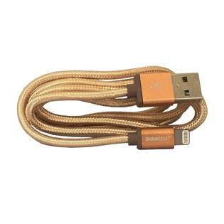 Cabo Lightning 90cm Dourado Apple MFI - Duracell