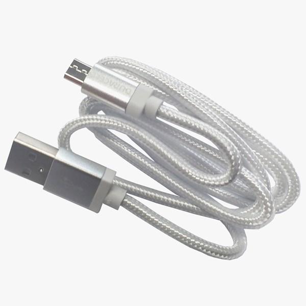 Cabo micro USB 3 metros branco - Duracell