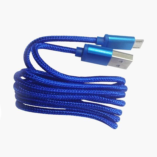 Cabo micro USB 90 cm azul - Duracell