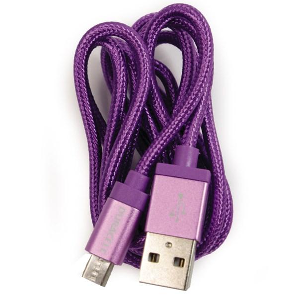 Cabo micro USB 90cm roxo - Duracell