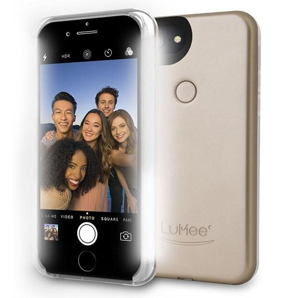 Capa Duo iluminação frontal iPhone 8/7/6S/6 Plus - Lumee