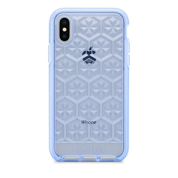 Capa Evo Gem iPhone X Azul - Tech 21