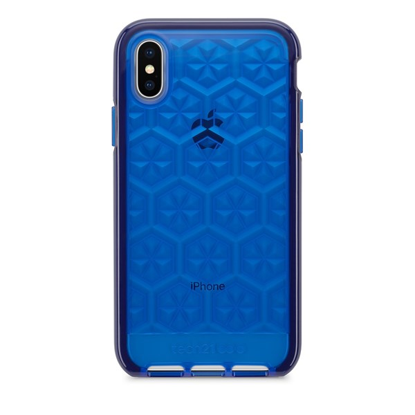 Capa Evo Gem para iPhone X Azul Escuro - Tech 21