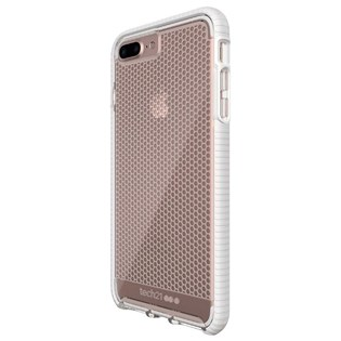 Capa evo mesh iPhone 7 Plus Transparente / branca - Tech 21