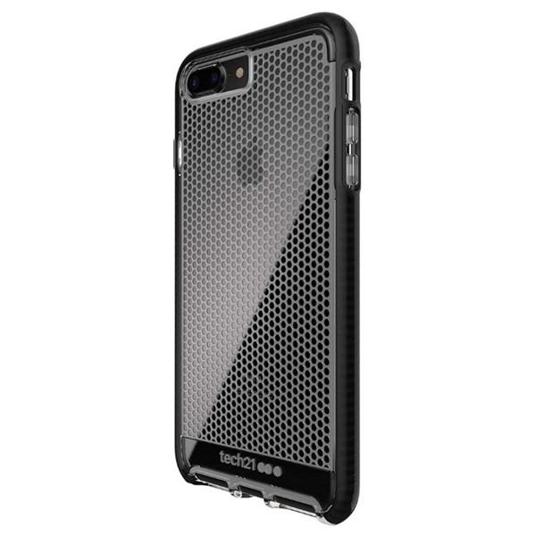 Capa evo mesh iPhone 7 Plus transparente / preta - Tech 21