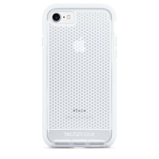Capa evo mesh iPhone 7 transparente / branca - Tech 21