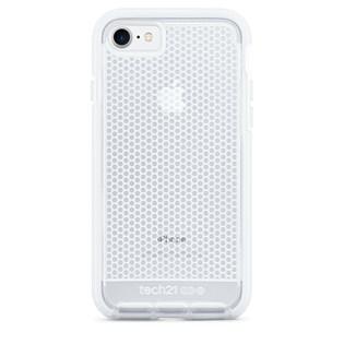 Capa evo mesh iPhone 7 transparente / branca - Tech 21