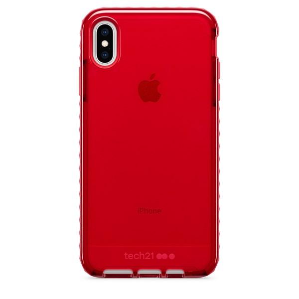 Capa Evo Rox iPhone Xs Max vermelha - Tech 21