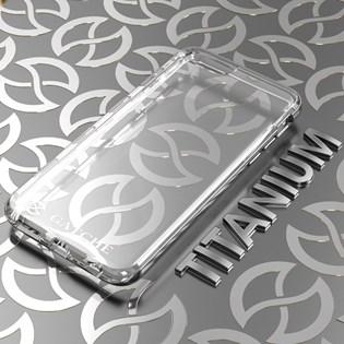Capa Híbrida para iPhone 8/7/6S/6 Titanium Fosco - Gatche