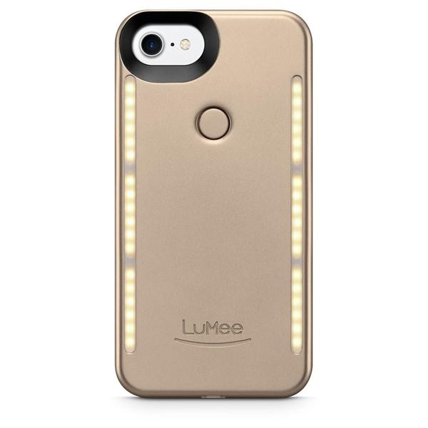 Capa lumme Duo iPhone 7 dourada - Lumee