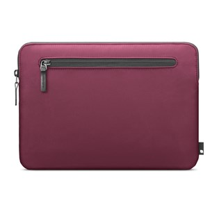 "Capa Sleeve Nylon Compacta para MacBook 12"" Vinho - Incase"