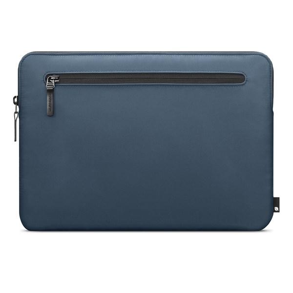 """Capa Sleeve Nylon Compacta para MacBook Pro 13"""" Thunderbolt 3 Azul Marinho - Incase"""