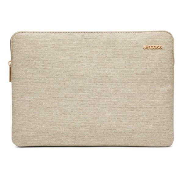 """Capa Sleeve Slim para MacBook 13"""" Caqui - Incase"""