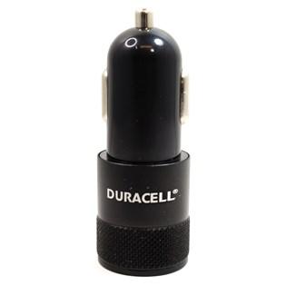 Carregador automotivo com duplo USB 2.1A preto - Duracell