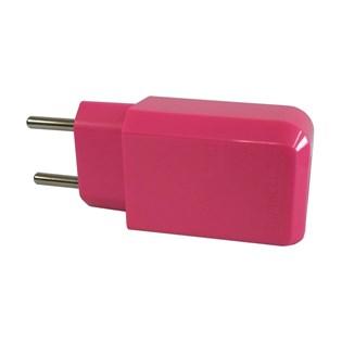Carregador de parede USB pink - Duracell