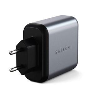 Carregador Portas Duplas para iPad iPhone 30w - Satechi