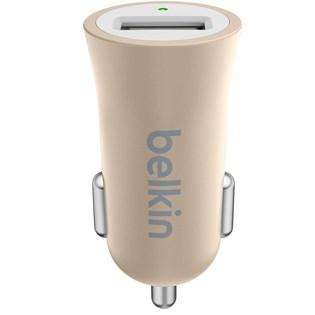 Carregador Veicular Metallic 2.4a Dourado - Belkin