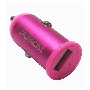 Carregador veicular USB 1.0A Rosa - Duracell