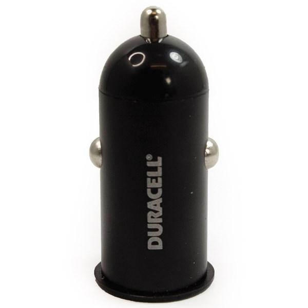 Carregador veicular USB 1.A Preto - Duracell