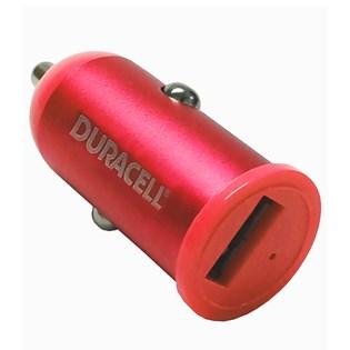 Carregador veicular USB 1.A Vermelho - Duracell