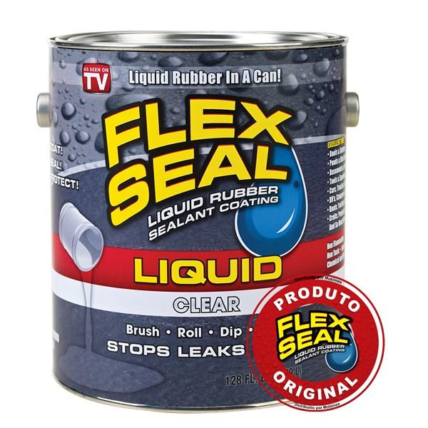 Flex Liquid Transparente - Lata média 945ml
