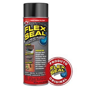 Flex Seal Spray Preto