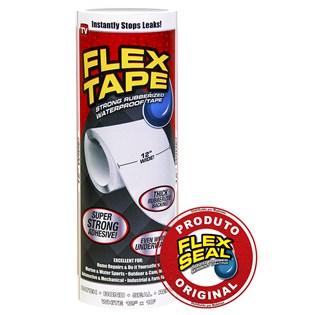 Flex Tape Fita Multi-Aplicação Branco - 30 x 300 cm