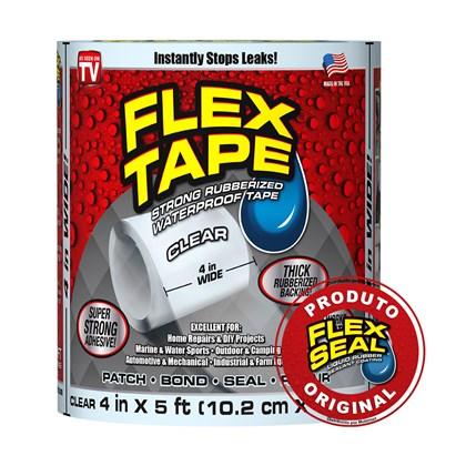Flex Tape Fita Multi-Aplicação Transparente - 10 x 150 cm