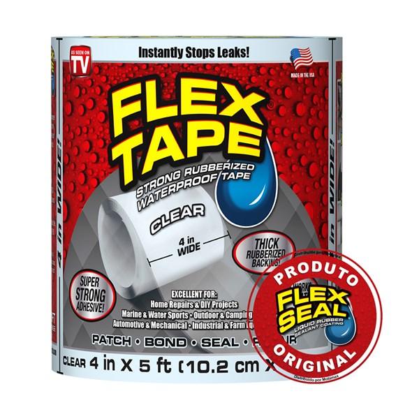 Flex Tape Fita Multi-Aplicação Transparente- 10 x 150 cm