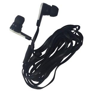 Fone de ouvido com microfone preto - Duracell