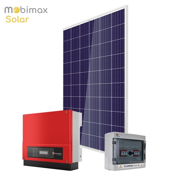 KIT GERADOR ENERGIA SOLAR 3,51KWP - Telha Cerâmica