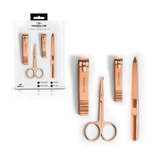 Kit manicure com 4 peças Cobre - BLKSMITH