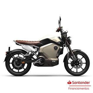 """Moto Elétrica TC Amarela - Motor de 1500W até 3000W Rodas 17"""" - Super Soco"""