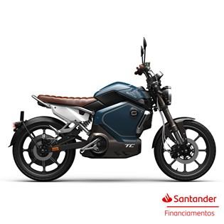 """Moto Elétrica TC Azul - Motor de 1500W até 3000W Rodas 17"""" - Super Soco"""
