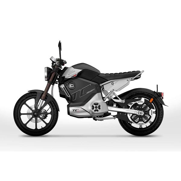 """Moto Elétrica TC MAX Preta - Motor Central de 3500W até 4500W Rodas 17"""" - Super Soco"""