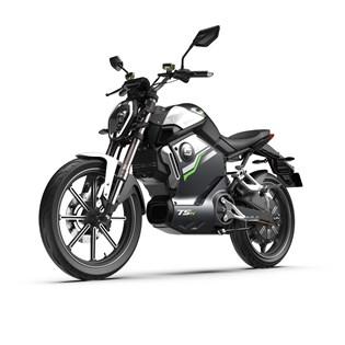 """Moto Elétrica TSX Cinza - Motor de 1500W até 3000W Rodas 17"""" - Super Soco"""