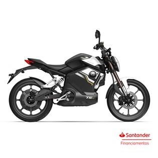 """Moto Elétrica TSX Preta - Motor de 1500W até 3000W Rodas 17"""" - Super Soco"""
