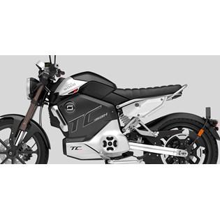 """Motocicleta Elétrica Modelo TC MAX com Motor Central de 3500W até 4500W Rodas 17"""" Preta - Super Soco"""