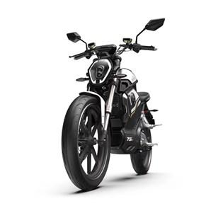 """Motocicleta Elétrica Modelo TSX com Motor de 1500W até 3000W Rodas 17"""" Vermelha - Super Soco"""