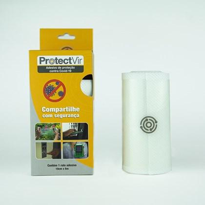 ProtectVir Adesivo Antiviral 10cm x 5m - Translúcido