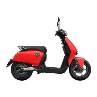 """Scooter Elétrica Modelo CU com Motor de 900W até 1200W Rodas 12"""" Vermelha - Super Soco"""