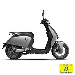"""Scooter Elétrica Modelo CUX com Motor de 1300W até 2788W Rodas 12"""" Cinza - Super Soco"""