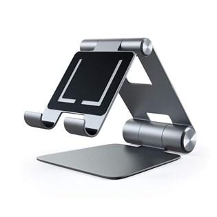 Suporte R1 para dispositivo móvel ou tablet cinza - Satechi