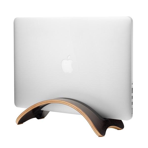 Suporte vertical Twelve South BookArc möd para MacBook - Preto