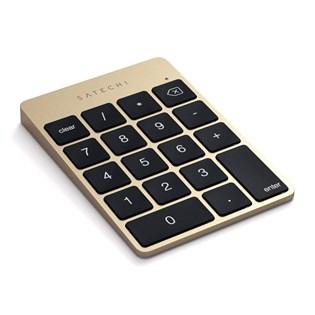 Teclado Slim Numérico Para Mac, Pc iOs Dourado - Satechi